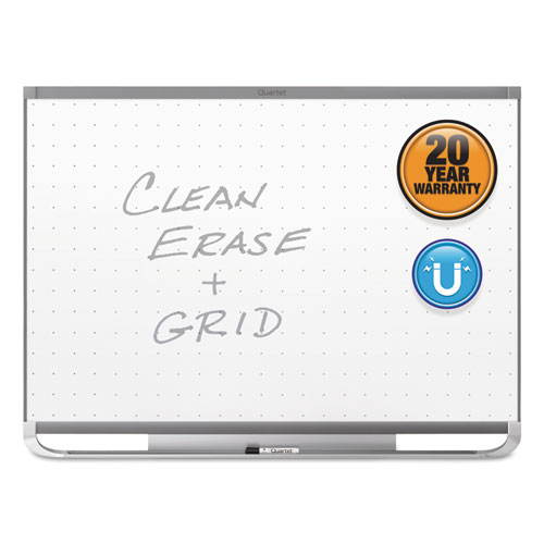 Prestige 2 Magnetic Total Erase Whiteboard, 96 X 48, Graphite Frame