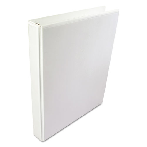 Image for A4 INTERNATIONAL ROUND RING VIEW BINDER, 4 RINGS, 1' CAPACITY, 11.63 X 8.13, WHITE
