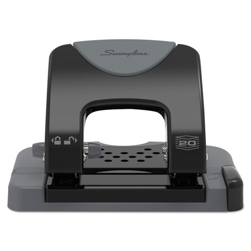 20-Sheet Smarttouch Two-Hole Punch, 9/32
