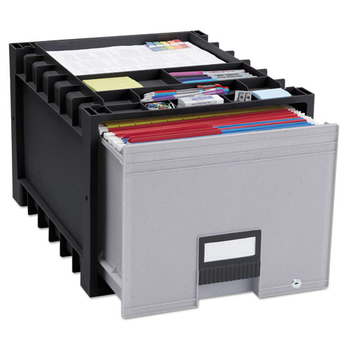 Image for ARCHIVE STORAGE DRAWERS WITH KEY LOCK, LETTER FILES, 15.25