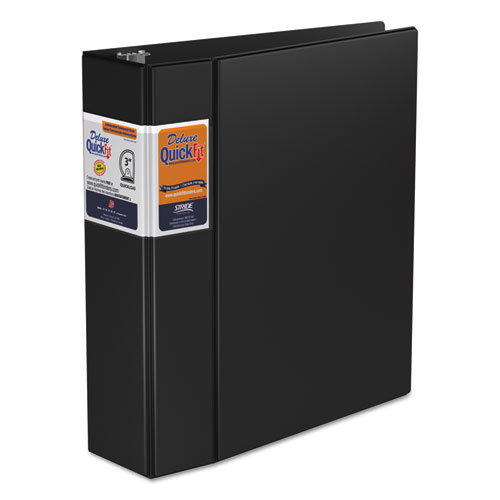QUICKFIT D-RING BINDER, 3 RINGS, 3