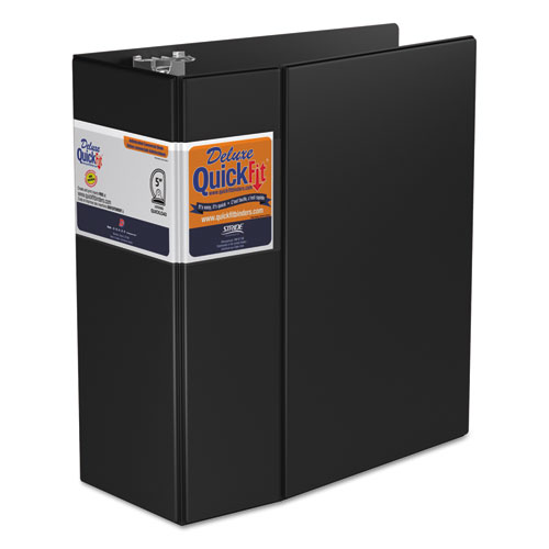 QUICKFIT D-RING BINDER, 3 RINGS, 5