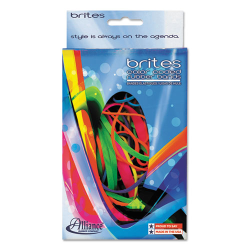Image for BRITES PIC-PAC RUBBER BANDS, SIZE 54 (ASSORTED), 0.04