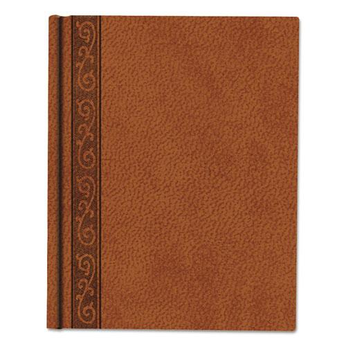 DA VINCI NOTEBOOK, 1 SUBJECT, MEDIUM/COLLEGE RULE, TAN COVER, 9.25 X 7.25, 75 SHEETS