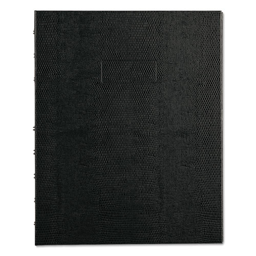 NOTEPRO NOTEBOOK, 1 SUBJECT, NARROW RULE, BLACK COVER, 9.25 X 7.25, 75 SHEETS