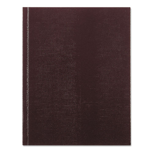 EXECUTIVE NOTEBOOK, MEDIUM/COLLEGE RULE, BURGUNDY COVER, 9.25 X 7.25, 150 SHEETS