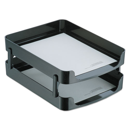 2200 SERIES FRONT-LOADING DESK TRAY, 2 SECTIONS, LETTER SIZE FILES, 10.25
