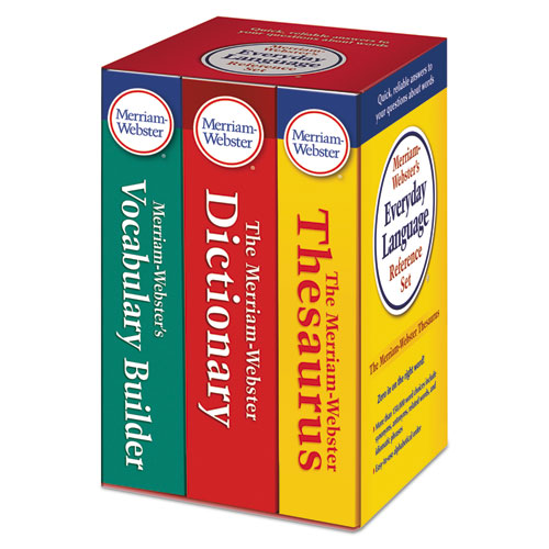 Image for Everyday Language Reference Set, Dictionary, Thesaurus, Vocabulary Builder