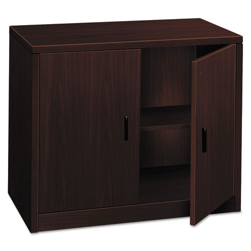 Image for 10500 Series Storage Cabinet W/doors, 36w X 20d X 29-1/2h, Mahogany