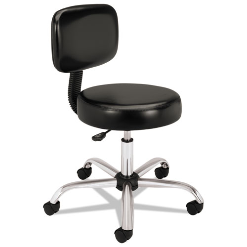 Image for ADJUSTABLE TASK/LAB STOOL WITH BACK, 22