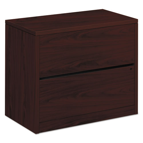 Image for 10500 SERIES TWO-DRAWER LATERAL FILE, 36W X 20D X 29.5H, MAHOGANY