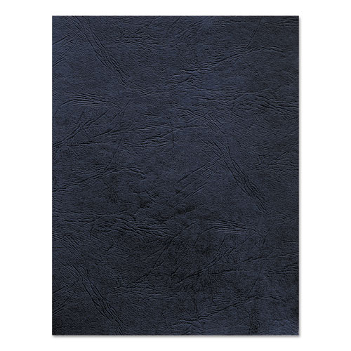 Image for Classic Grain Texture Binding System Covers, 11 X 8-1/2, Navy, 50/pack