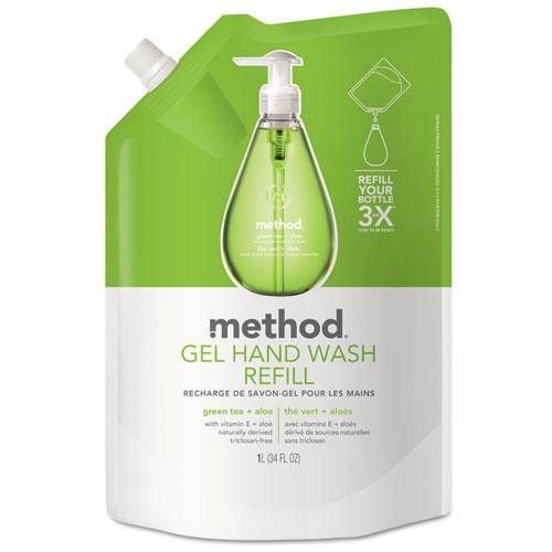Gel Hand Wash Refill Green Tea Amp Aloe 34 Oz Pouch