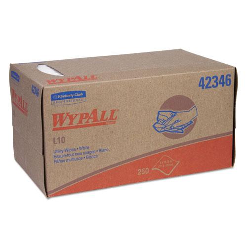 L10 Towels, Pop-Up Box, 1-Ply, 10 1/4 X 9, White, 250/box