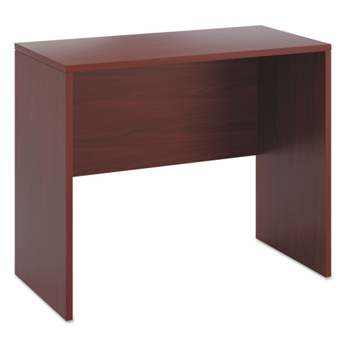 Image for 10500 Series Standing Height Desk Shell, 48w X 24d X 42h, Mahogany