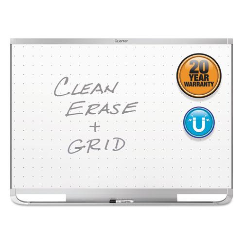 Prestige 2 Magnetic Total Erase Whiteboard, 36 X 24, Aluminum Frame
