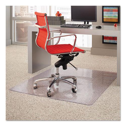 Esrobbins Dimensions Chair Mat For Carpet, Rectangular, 46 X 60, Clear