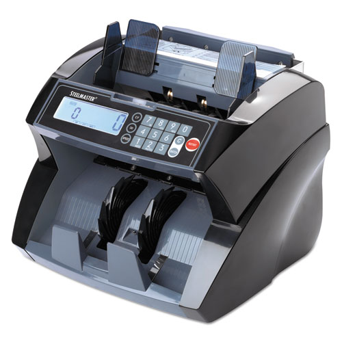 Image for 4850 BILL COUNTER WITH COUNTERFEIT DETECTION, 1900 BILLS/MIN, BLACK