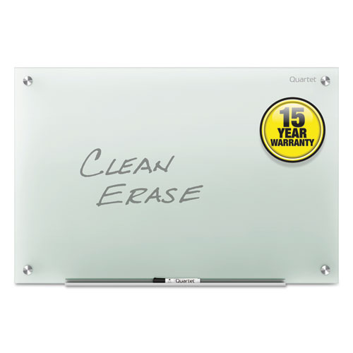 Infinity Glass Marker Board, Frosted, 72 X 48