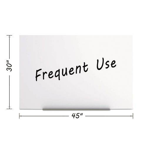 Magnetic Dry Erase Tile Board, 29 1/2 X 45, White Surface