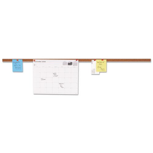 Cork Bulletin Bar, Brown, 36 X 1