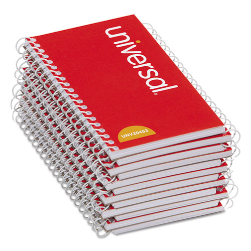 Image for WIREBOUND MEMO BOOK, NARROW RULE, 5 X 3, WHITE, 50 SHEETS, 12/PACK