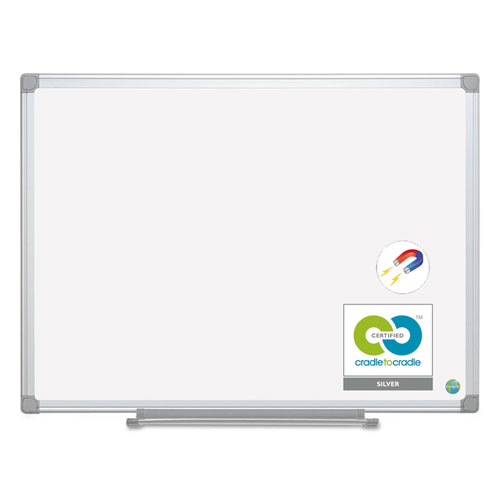 Earth Ceramic Dry Erase Board, 36x48, Aluminum Frame