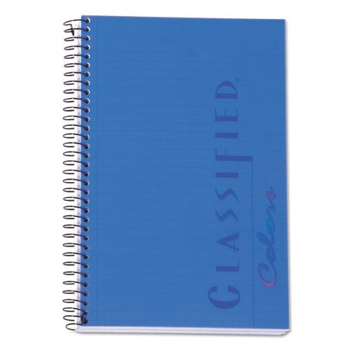 COLOR NOTEBOOKS, 1 SUBJECT, NARROW RULE, INDIGO BLUE COVER, 8.5 X 5.5, 100 SHEETS
