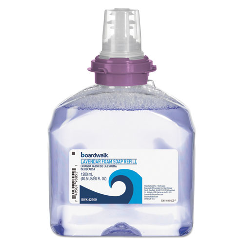 Image for Lavender Foam Soap, Cranberry Scent, 1200 Ml Refill, 2/carton