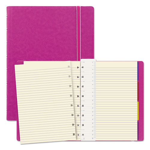 NOTEBOOK, 1 SUBJECT, MEDIUM/COLLEGE RULE, FUCHSIA COVER, 8.25 X 5.81, 112 SHEETS