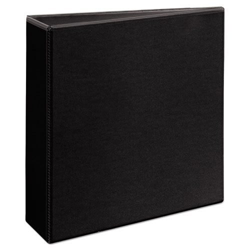 DURABLE VIEW BINDER WITH DURAHINGE AND EZD RINGS, 3 RINGS, 3