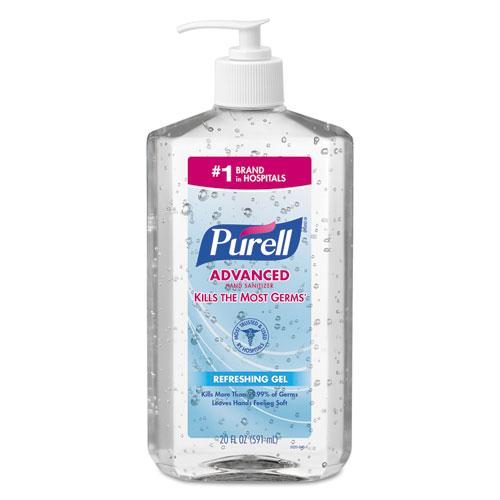 Purell Advanced Instant Hand Sanitizer, 20 Oz Pump Bottle