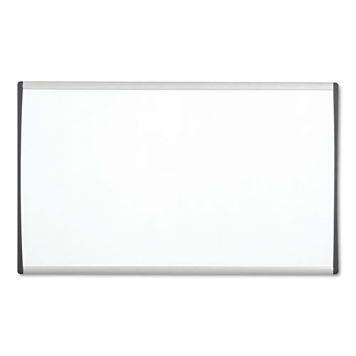 Magnetic Dry-Erase Board, Steel, 14 X 24, White Surface, Silver Aluminum Frame