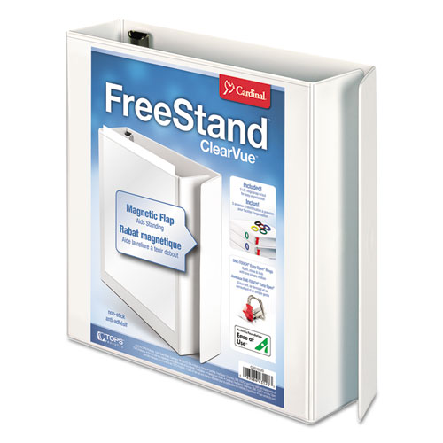 FREESTAND EASY OPEN LOCKING SLANT-D RING BINDER, 3 RINGS, 2
