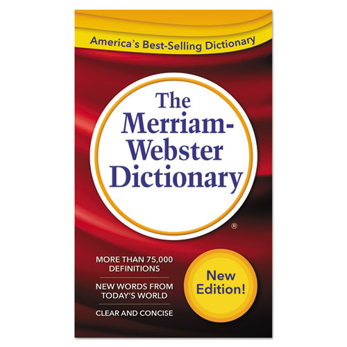 Image for The Merriam-Webster Dictionary, 11th Edition, Paperback, 960 Pages