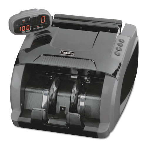Image for 4800 Currency Counter, 1080 Bills/min, 9 1/2 X 11 1/2 X 8 3/4, Charcoal Gray