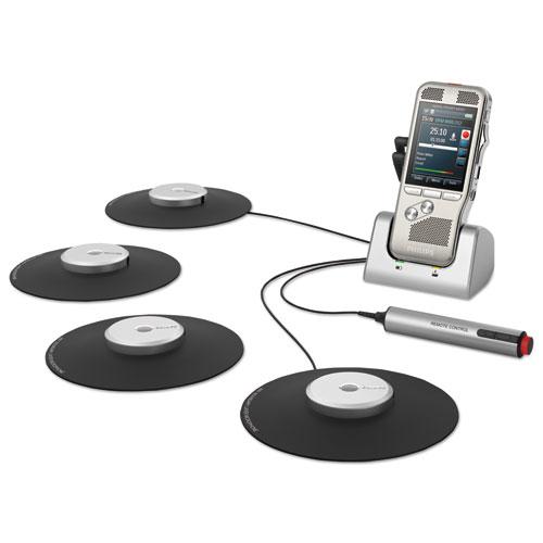 Image for Pocket Memo 6000 Digital Recorder, Meeting Kit, 2gb, Silver