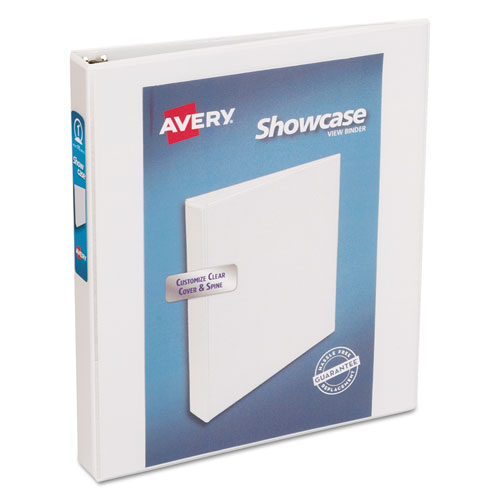 SHOWCASE ECONOMY VIEW BINDER WITH ROUND RINGS, 3 RINGS, 1