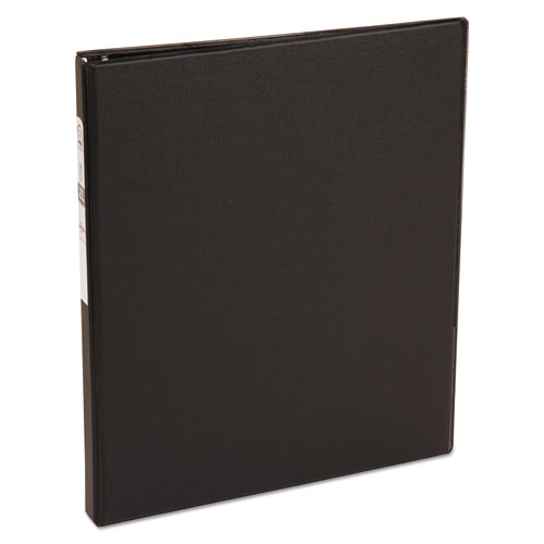 ECONOMY NON-VIEW BINDER WITH ROUND RINGS, 3 RINGS, 0.5
