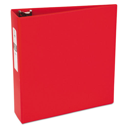 ECONOMY NON-VIEW BINDER WITH ROUND RINGS, 3 RINGS, 3
