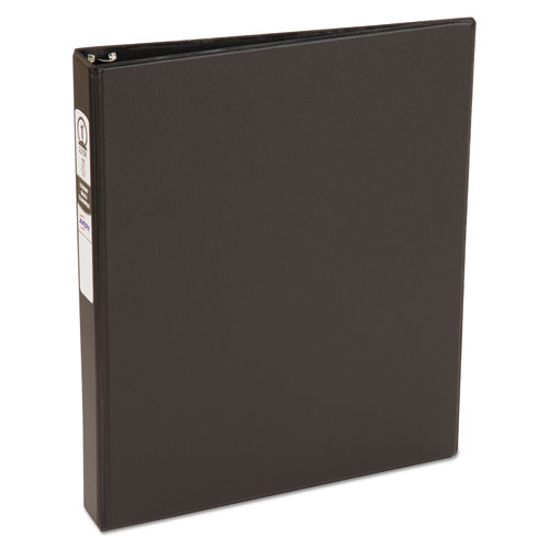 ECONOMY NON-VIEW BINDER WITH ROUND RINGS, 3 RINGS, 1