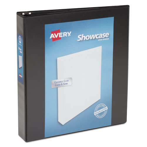 SHOWCASE ECONOMY VIEW BINDER WITH ROUND RINGS, 3 RINGS, 1.5