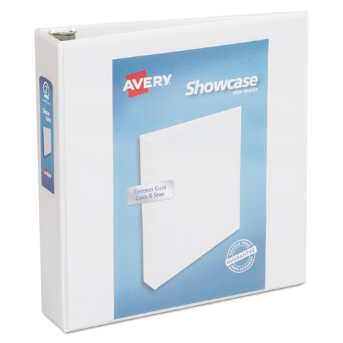 SHOWCASE ECONOMY VIEW BINDER WITH ROUND RINGS, 3 RINGS, 2