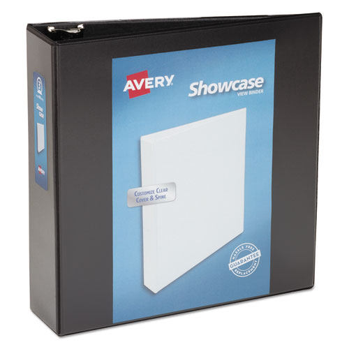 SHOWCASE ECONOMY VIEW BINDER WITH ROUND RINGS, 3 RINGS, 3