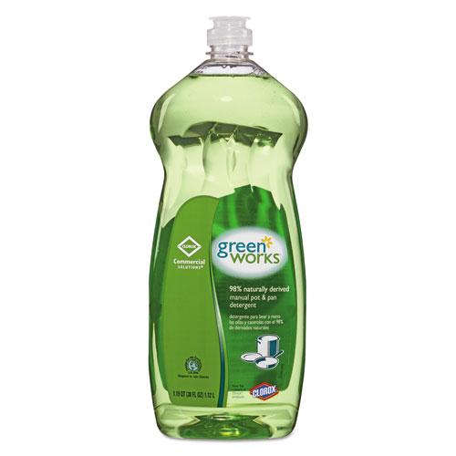 Manual Pot And Pan Dishwashing Liquid, 38 Oz Bottle