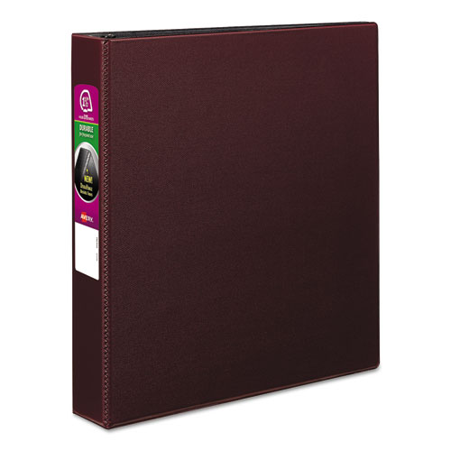 DURABLE NON-VIEW BINDER WITH DURAHINGE AND SLANT RINGS, 3 RINGS, 1.5