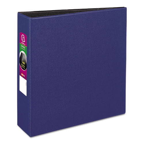 DURABLE NON-VIEW BINDER WITH DURAHINGE AND SLANT RINGS, 3 RINGS, 3