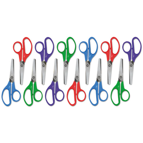 KIDS' SCISSORS, ROUNDED TIP, 5