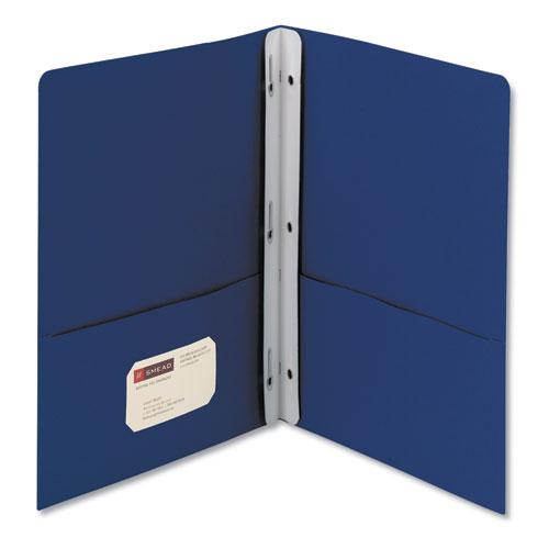 2-Pocket Folder W/tang Fastener, Letter, 1/2