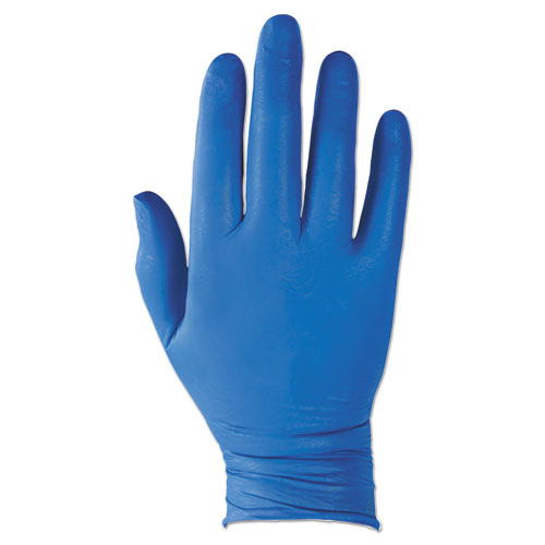 G10 NITRILE GLOVES, ARTIC BLUE, LARGE, 2000/CARTON